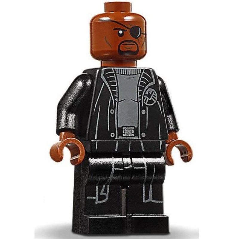 Lego® Super Heroes Minifigur Nick Fury aus Set 76153 Neu