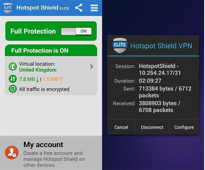 AndroidWorld: Hotspot Shield VPN v2 2 7 Elite Patched + Mod