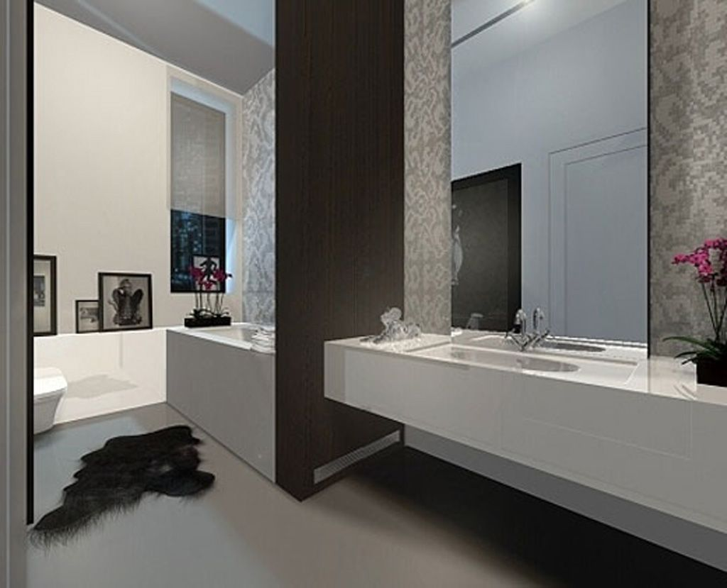 Picture Collection Website  Simple Modern Bathroom Decorating Ideas Selection Galleries
