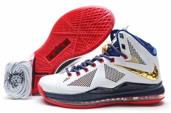 free shipping fa721 0449b ... sale discount mens nike lebron 10 x carving shoes gold medalhot b8829  b4dab