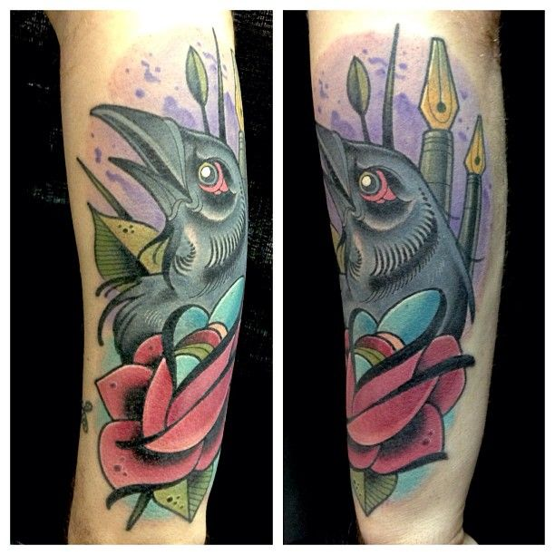 David tevenal at memento tattoo and gallery in columbus for Tattoo artists in columbus ohio