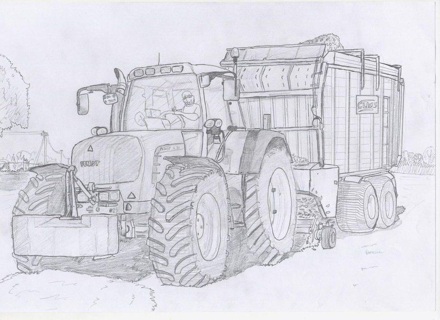 Pin Von Agro Podkarpacietv Auf Traktoren Malvorlagen Ausmalen Ausmalbilder Traktor Ausmalbilder