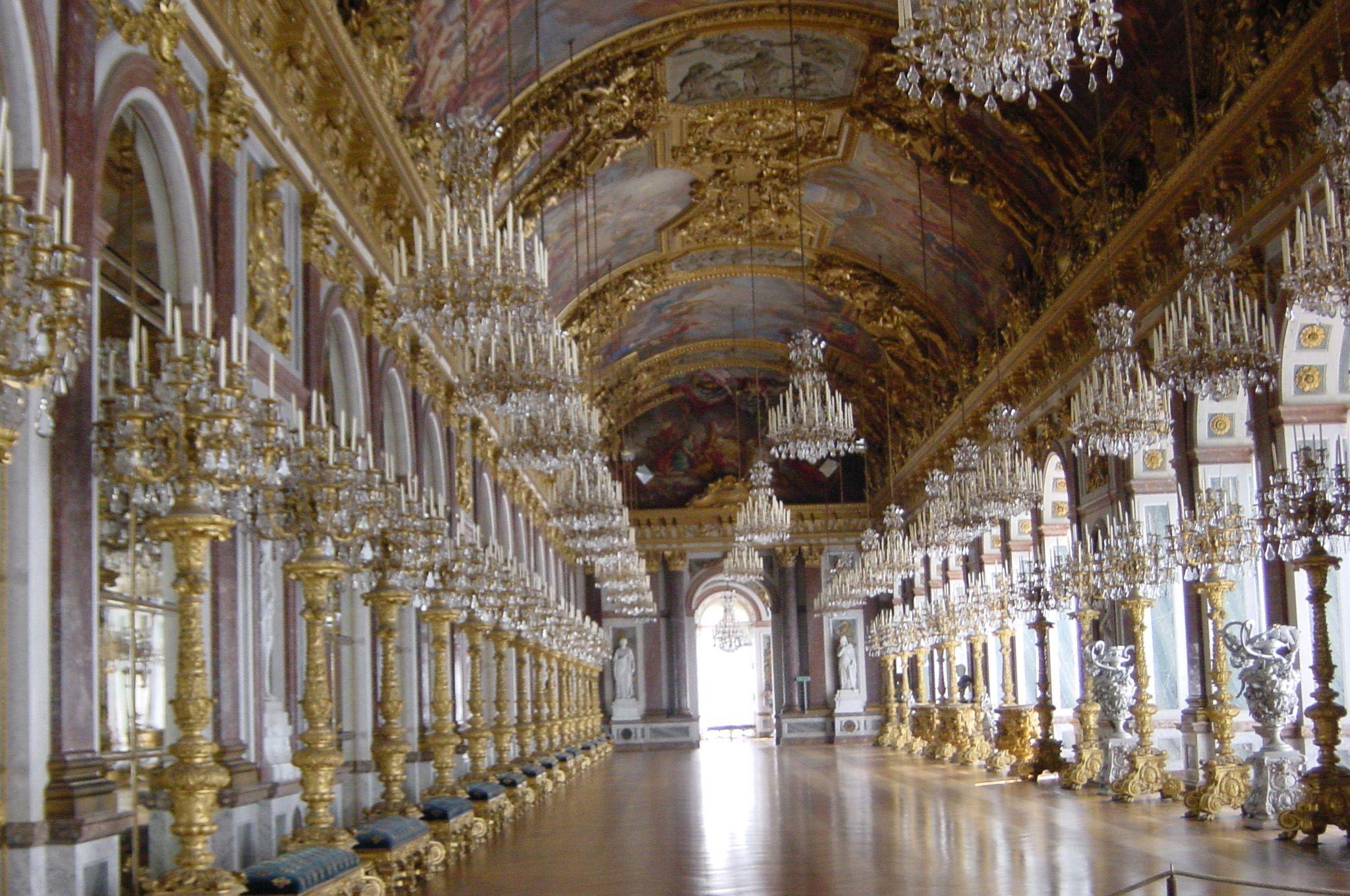 Herrenchiemsee Palace Hall Of Mirrors Herrenchiemsee Schlosser Deutschland Burg