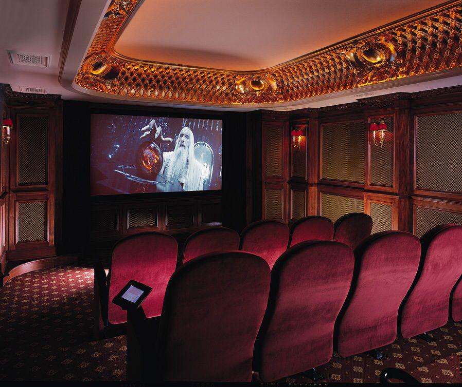 Salas De Cine En Casa: SALAS DE CINE PRIVADO