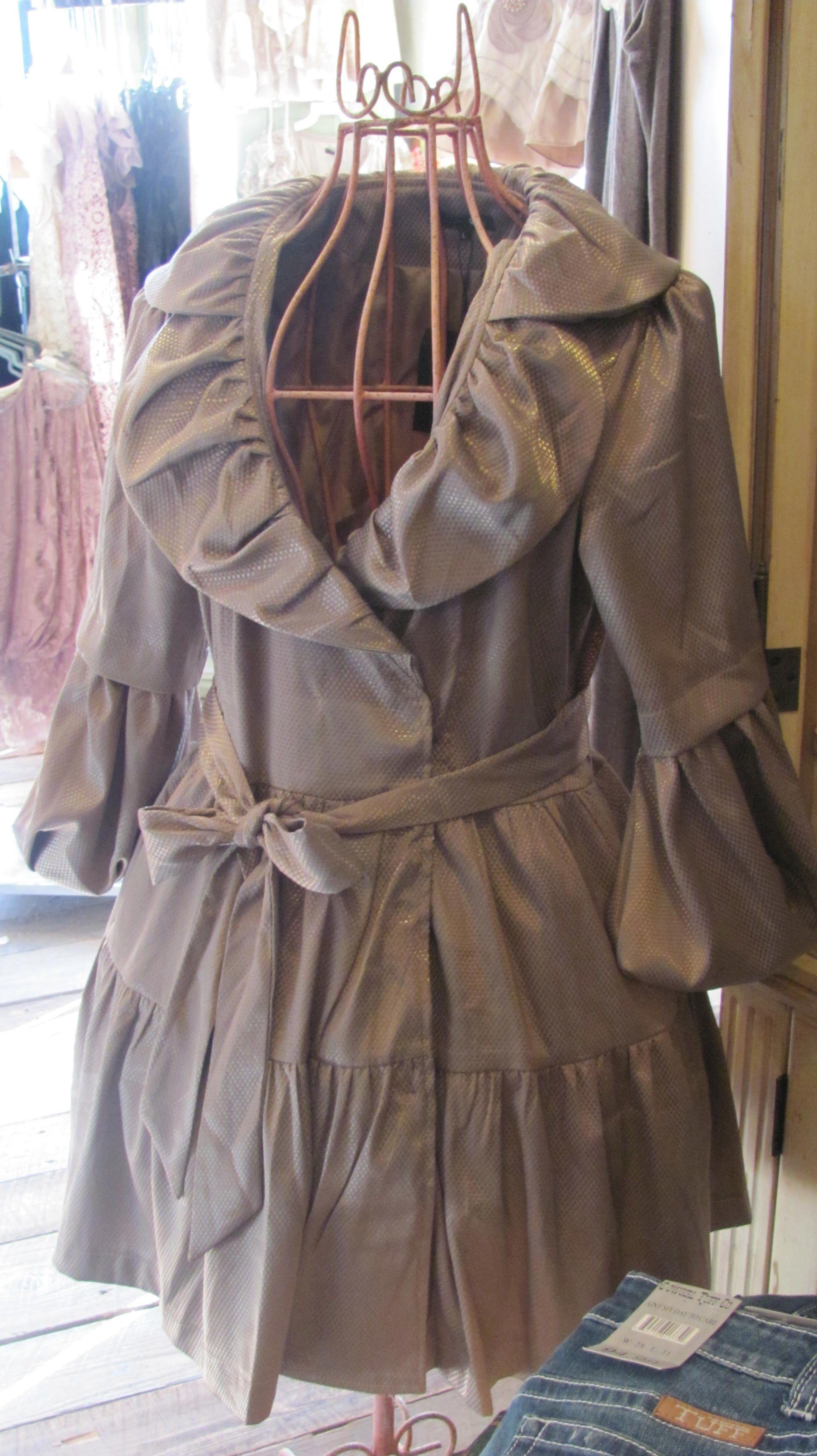 Belted Dress Coat