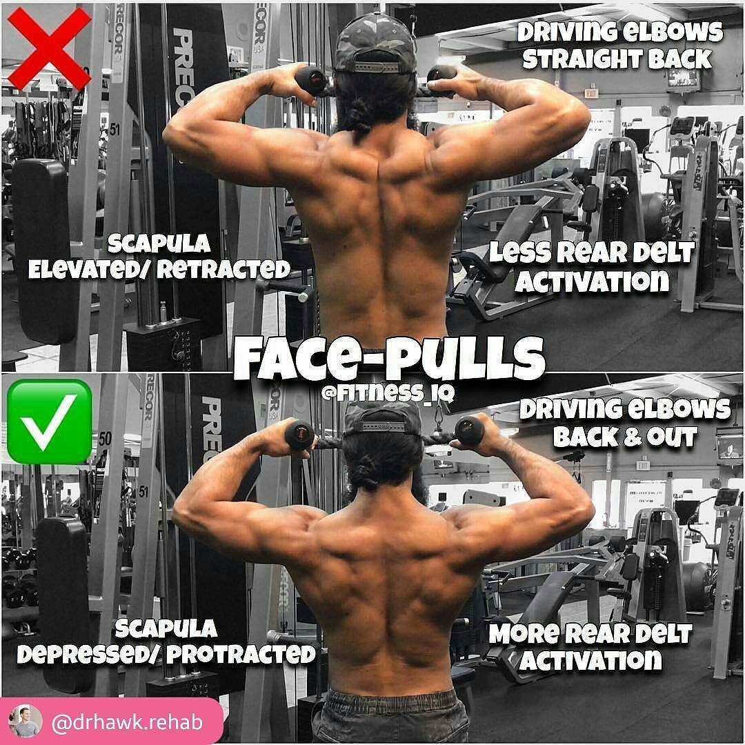 photo How to Do the Face Pulls Exercise for Stronger Shoulders