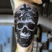 Photo of Tatuaje de calavera y cruz – Los mejores tatuajes de calavera para hombres: Diseños geniales …