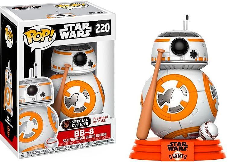 "STAR WARS THE FORCE AWAKENS BB-8 3.75/"" VINYL BOBBLE HEAD FIGURE POP FUNKO"