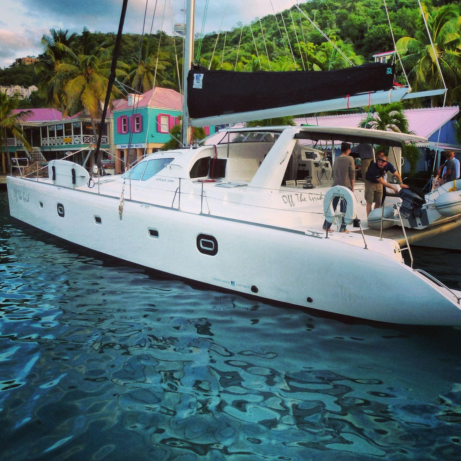 Catamaran Virgin Islands Vacation: The Biggest Bareboat. Period. The Voyage 600. 60 Feet Long