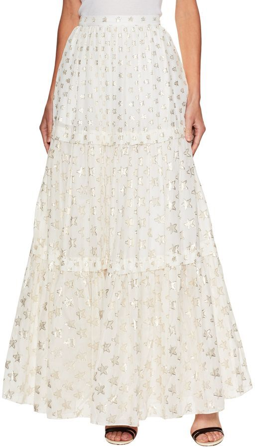 13198ea98d Temperley London Women's Star Jacquard Maxi Skirt I Love Fashion, Women's  Fashion, Winter Fashion