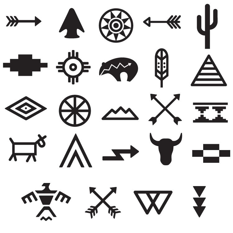 tribal symbols tattoo set 668 ink pinterest tattoos tribal