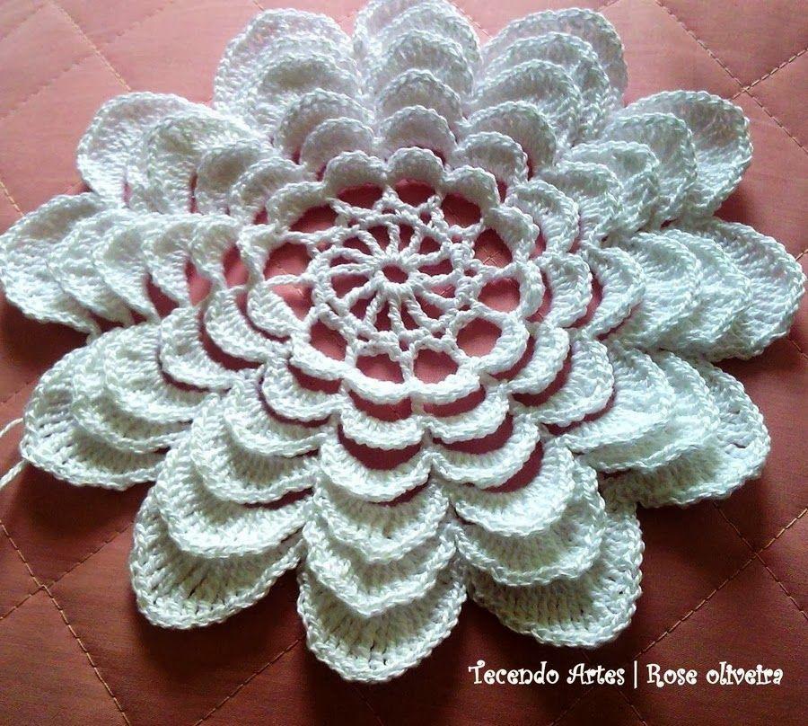 Crochet e le arti: tovagliolo