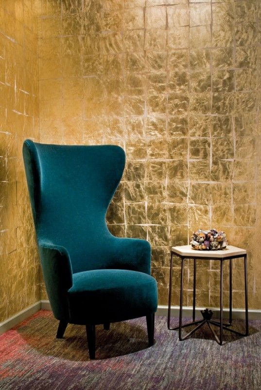 Home I Interior I Furniture I Wingback Armchair For more inspiration: @BRABBU http://brabbu.com