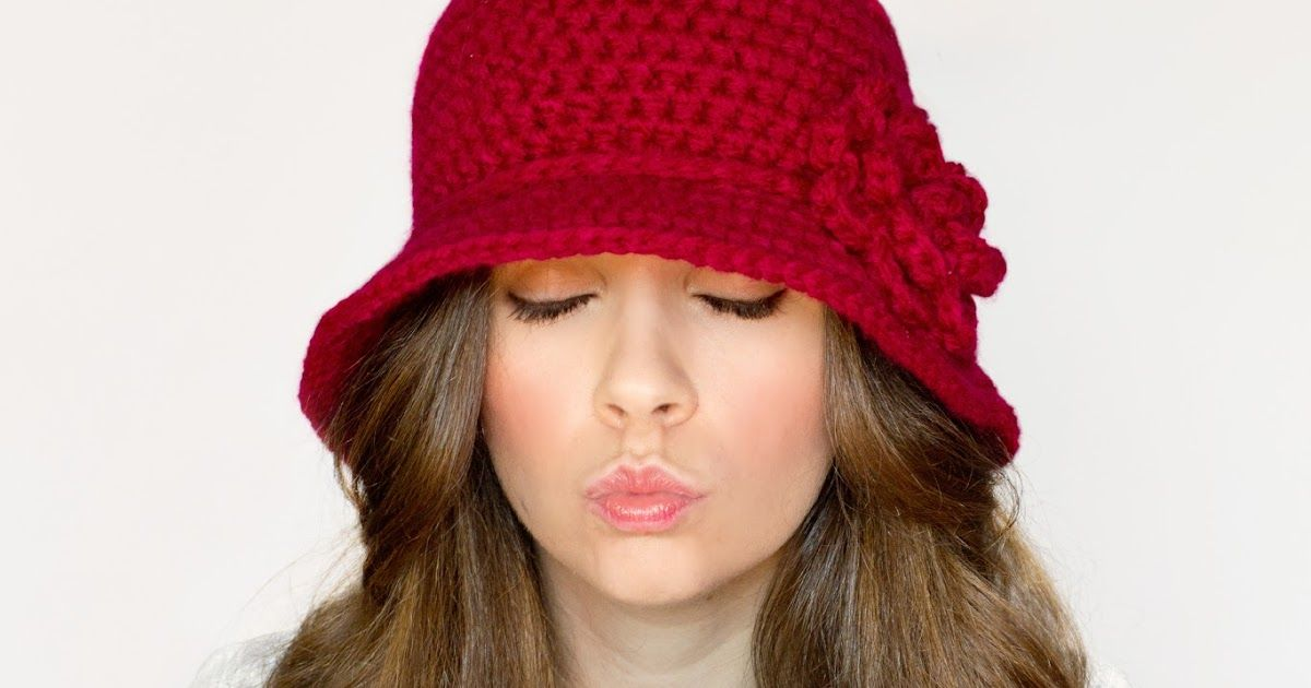 Hopeful Honey | Craft, Crochet, Create: 1920\'s Cloche Hat Crochet ...