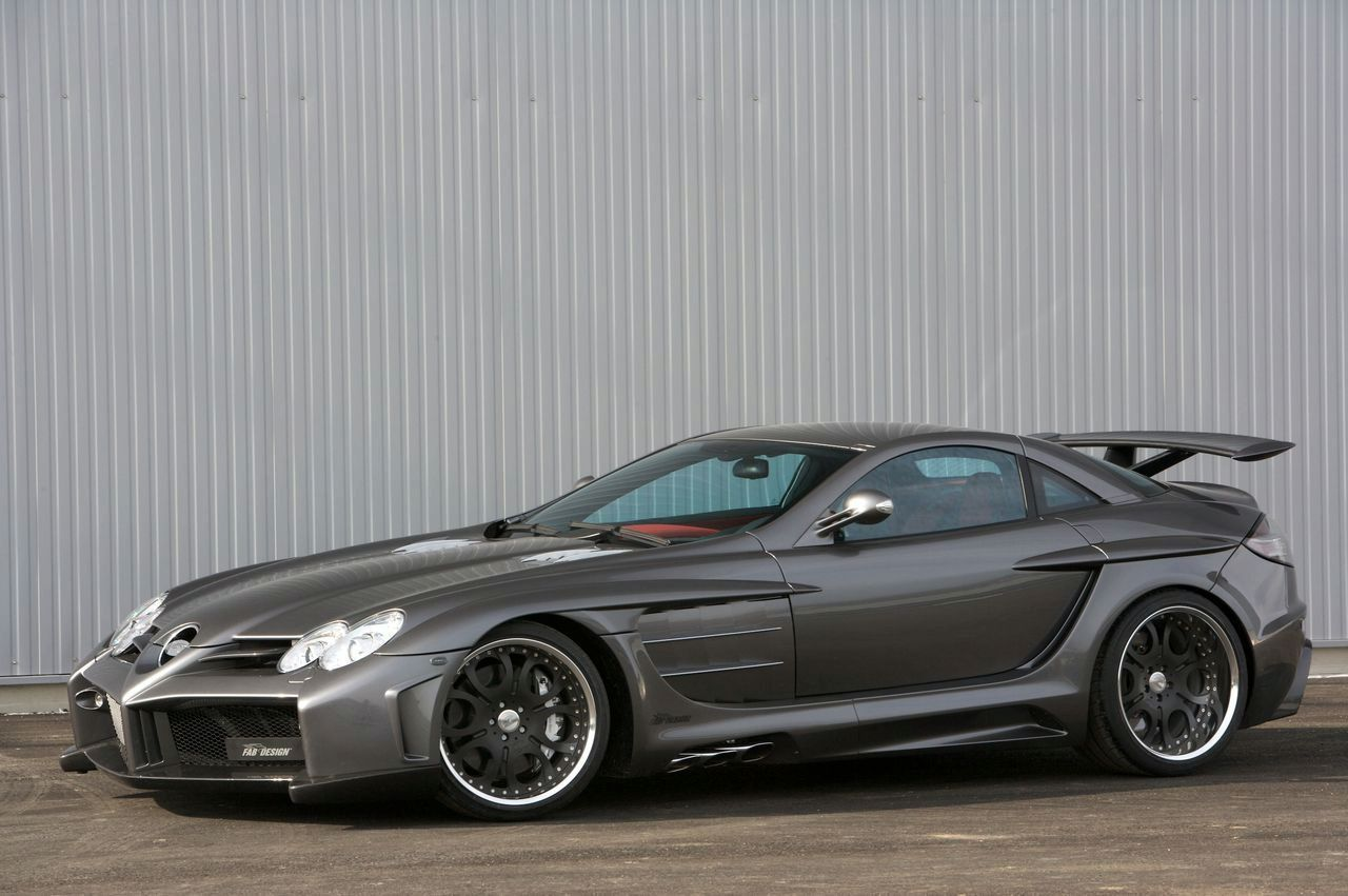 """The FAB DESIGN MercedesBenz SLR McLaren Desire."" Dave"