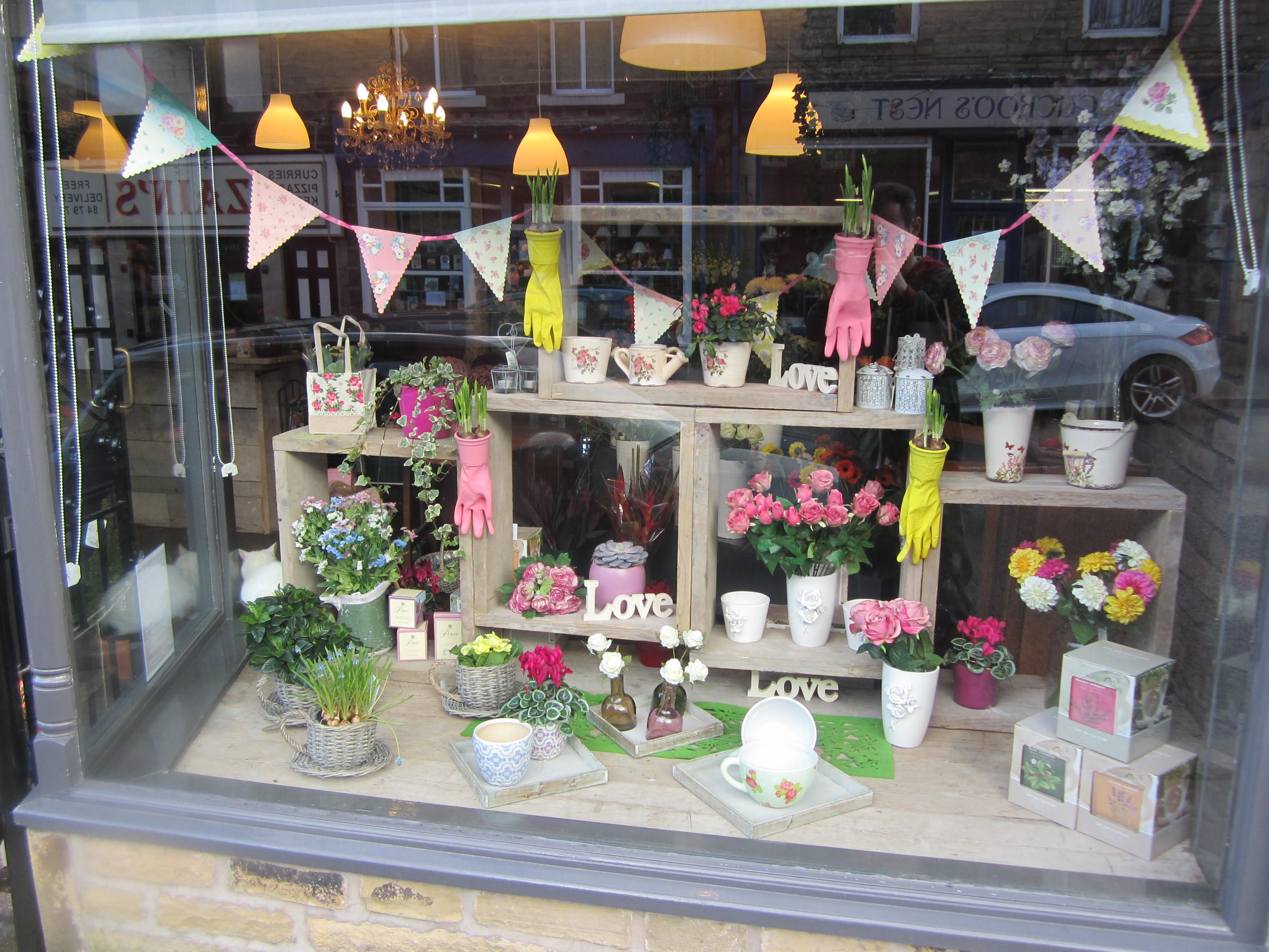 Mother's Day/Spring 2014 Window display