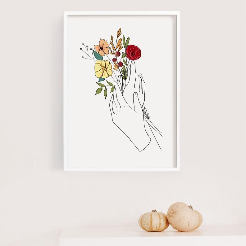 Poster poster flowers ref 40 3 dimensions, matte paper or photo paper
