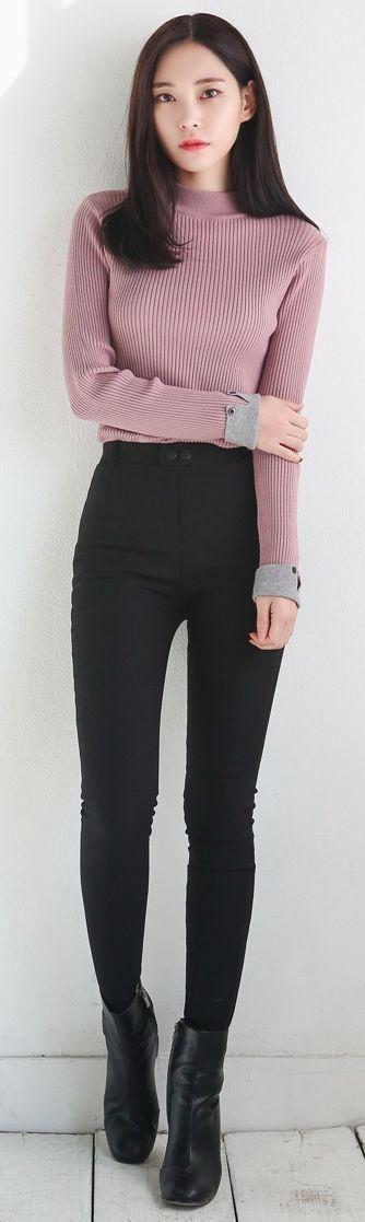 image result for korean winter outfits korean fashion. Black Bedroom Furniture Sets. Home Design Ideas
