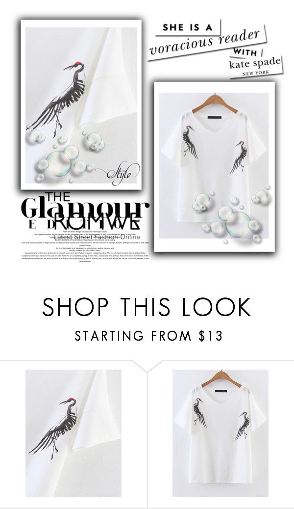 """""""Untitled #22"""" by marisson ❤ liked on Polyvore featuring Kate Spade"""