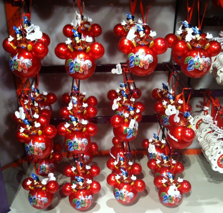 2014 Mickey Mouse Ornaments from the Disney Days of Christmas ...