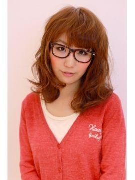 メガネ女子に似合うかわいい髪型集 眼鏡 ヘアカタログ ロング ショート 30代 Naver まとめ Fashion Sweaters Sweatshirts
