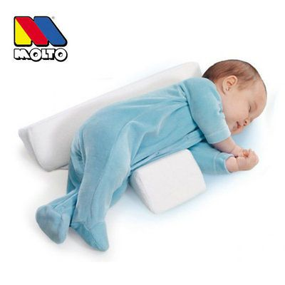 newborn baby sleep anti roll cushion