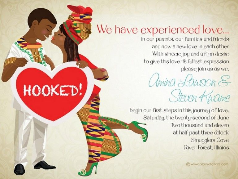 ghana wedding invitations 10 african wedding invitations designed perfectly knotsvilla