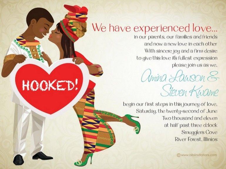 Ghana Wedding Invitations 10 African Designed Perfectly Knotsvilla