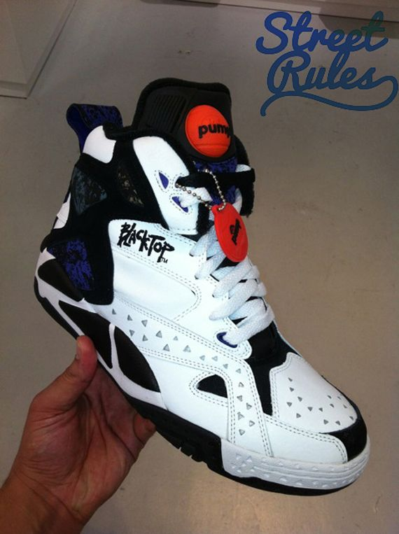 reebok pump blacktop grade school