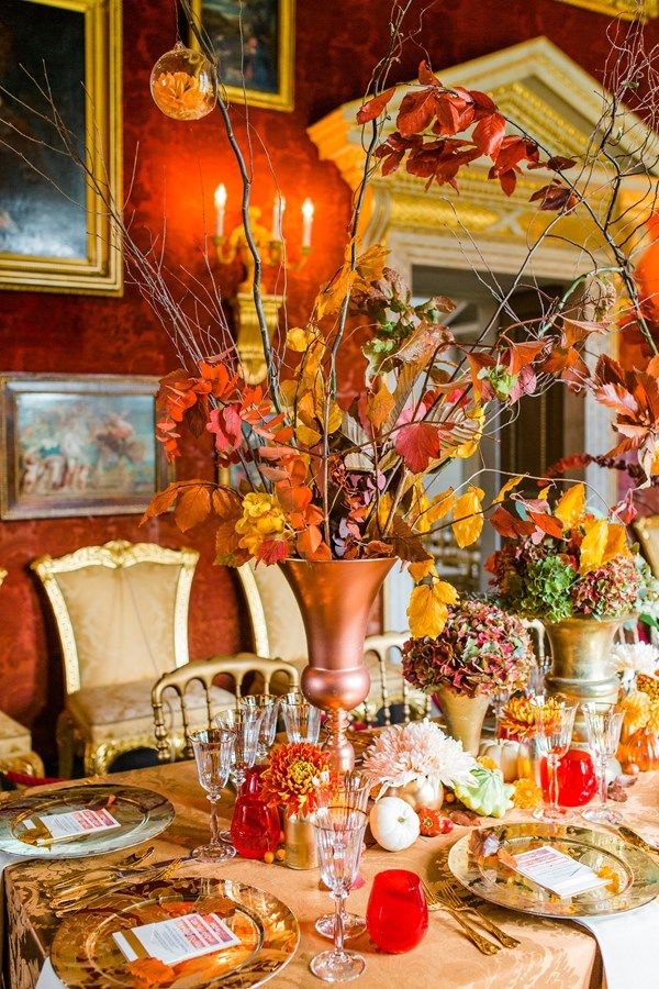 Autumnal Wedding Table Decorations Click On The Image To See Our Full Gallery Of Autumn