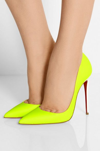 chaussures louboutin jaune