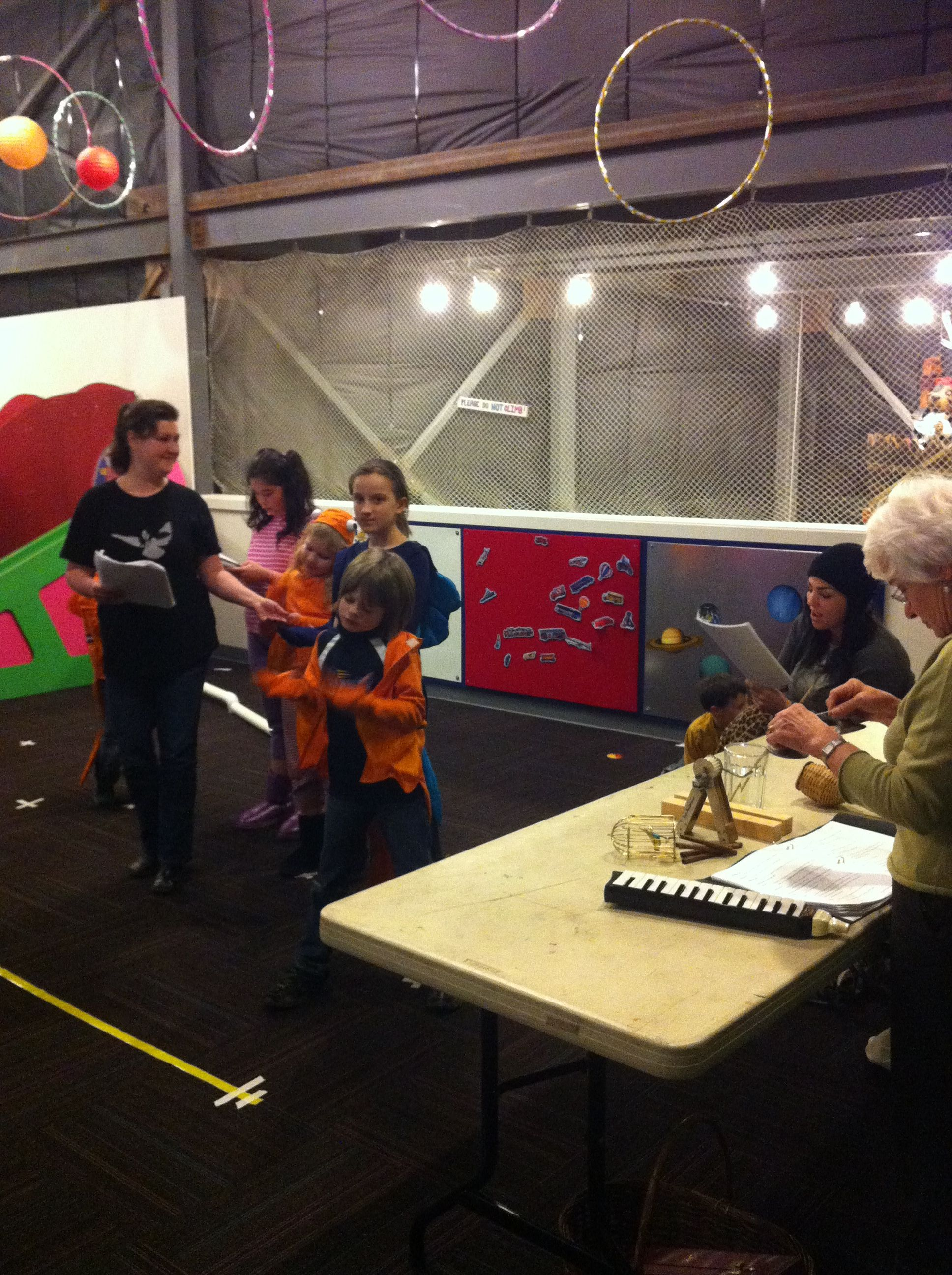 Rehearsal Space For Biss Provided In Kind By The Kids