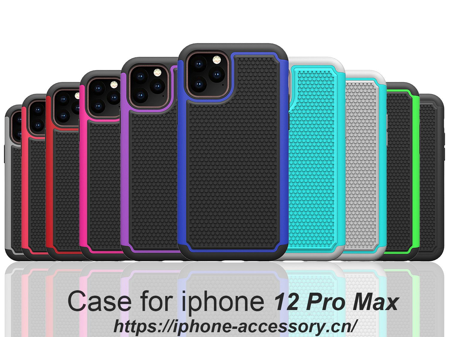 iPhone 12 Pro Max armor shock proof Case