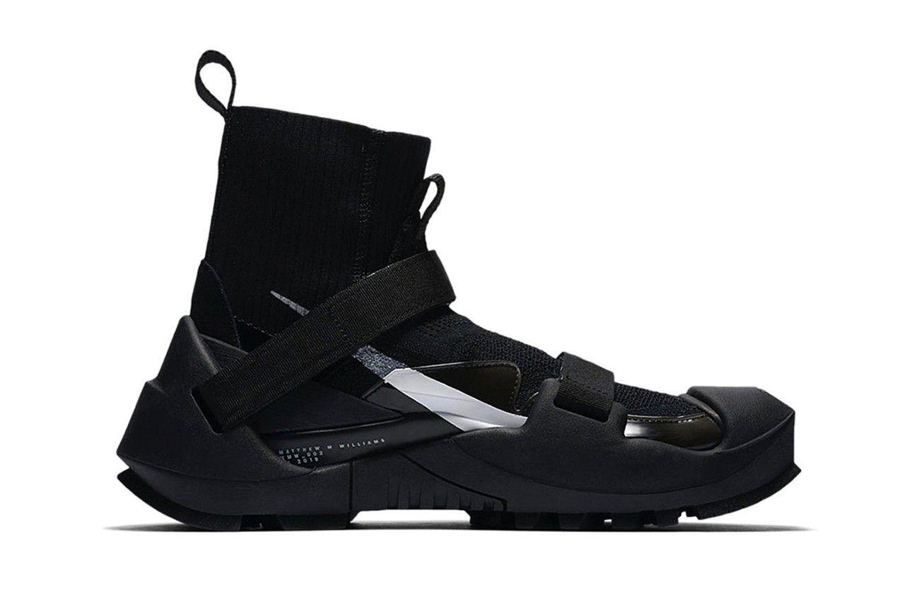 Matthew M. Williams Unveils Upcoming Nike Vibram Equipped