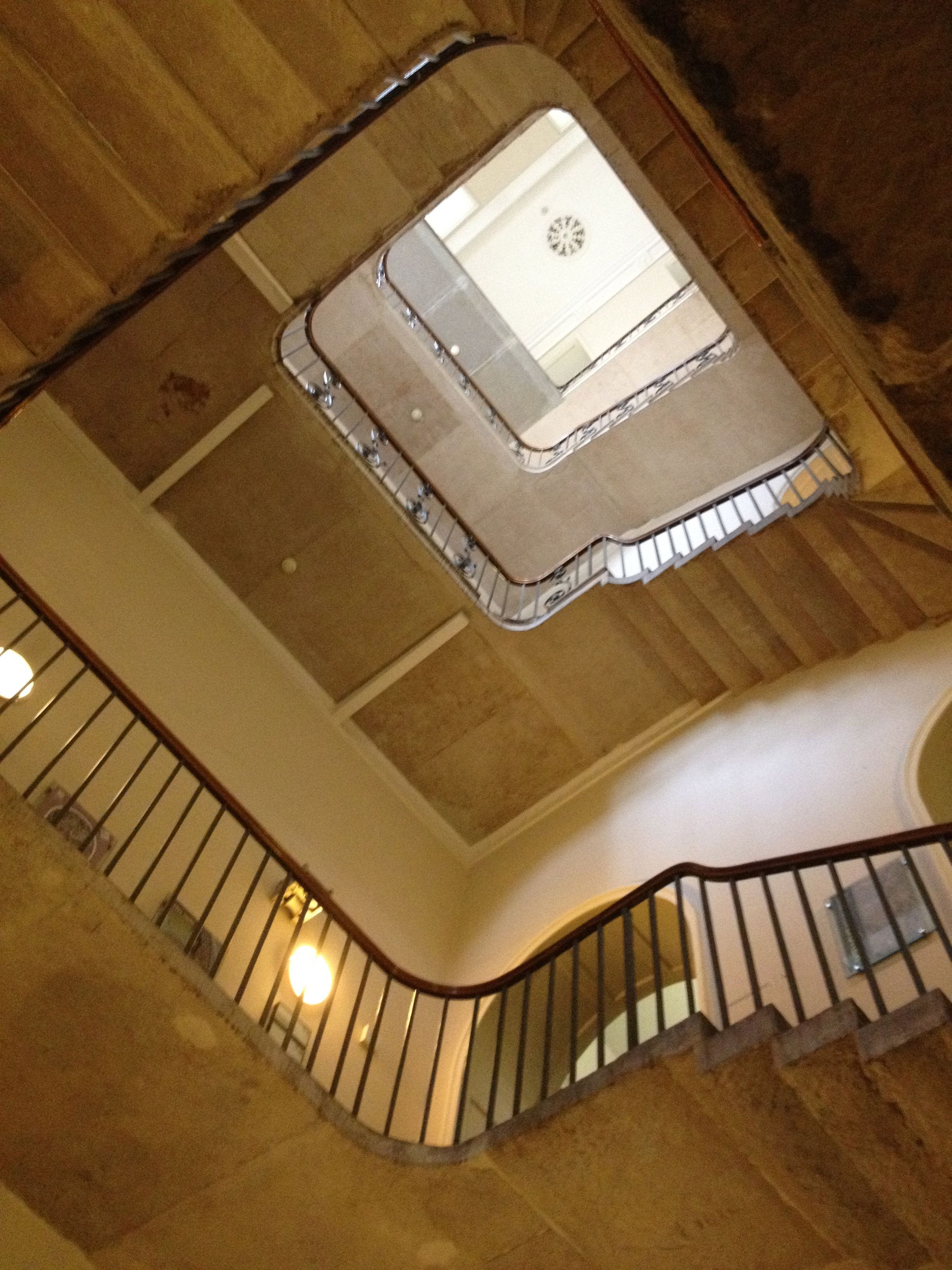 Yes It Is The Stamp Staircase Of Somerset House In London