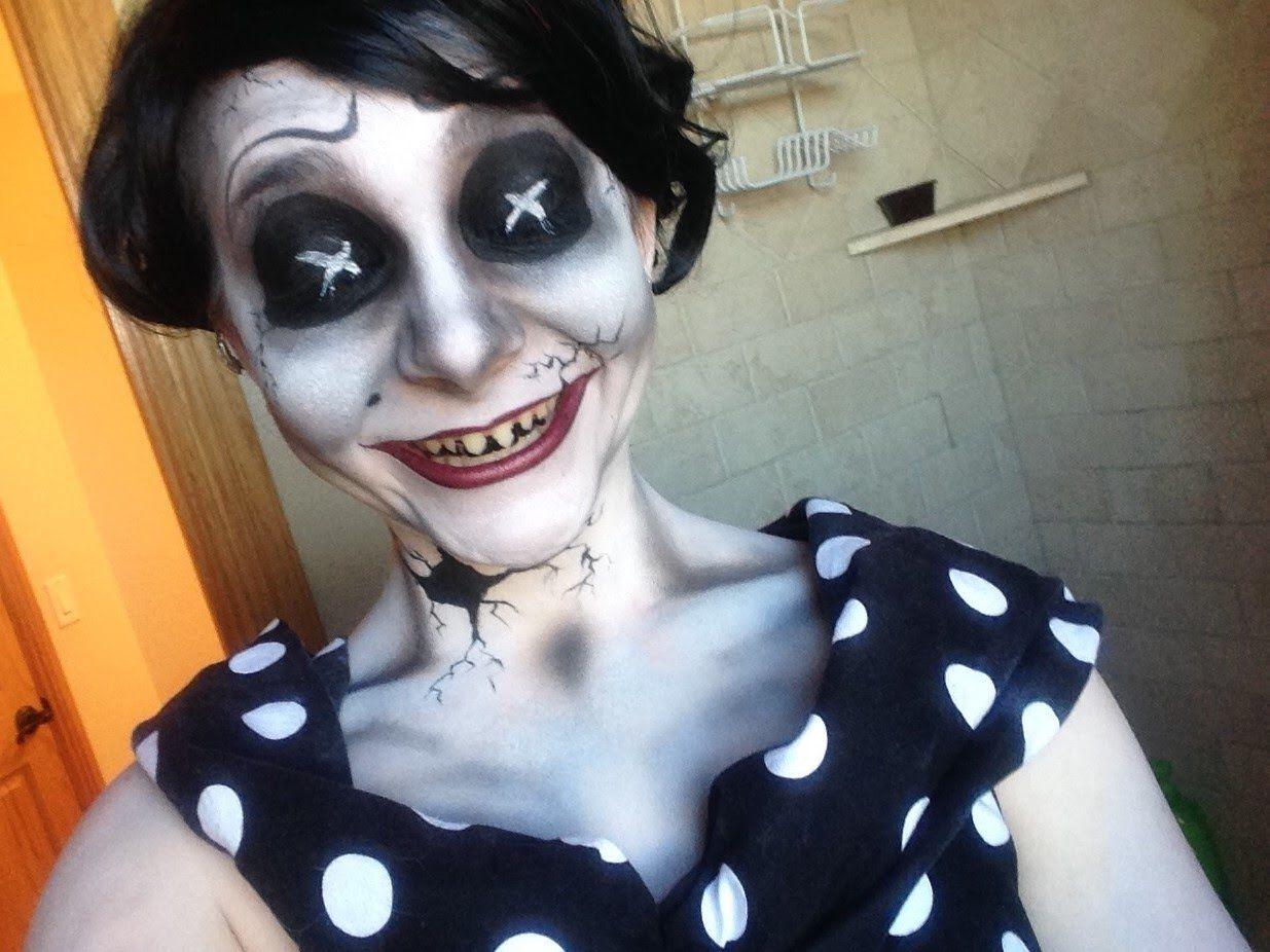 DIY Coraline's Other Mother Halloween Costume Idea 1   DIY ...