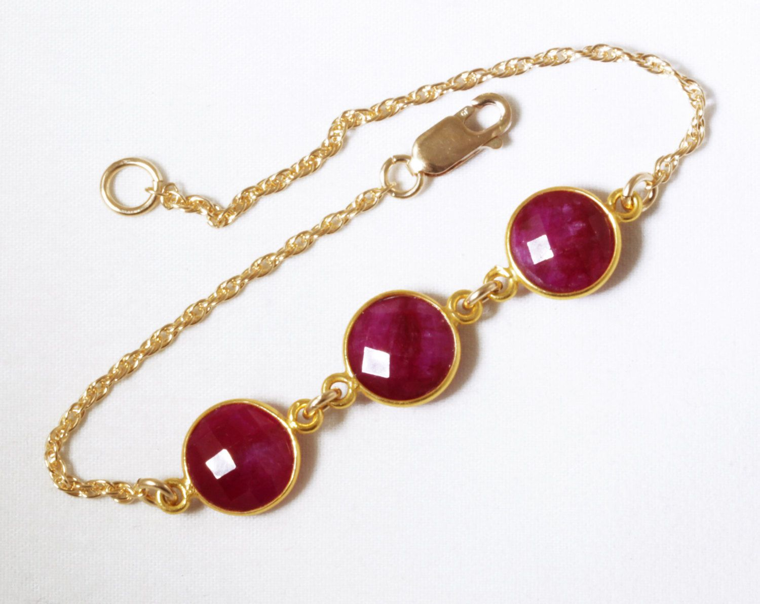gold july simulated for crystal filled women bracelet beaded ruby crystals in products birthstone bracelets sq red swarovski