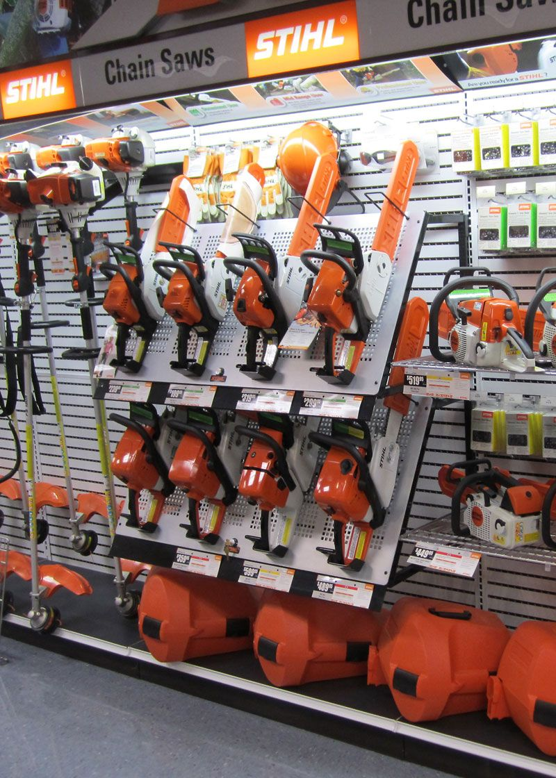 Displaying Products In A More Accessible Way Stihl