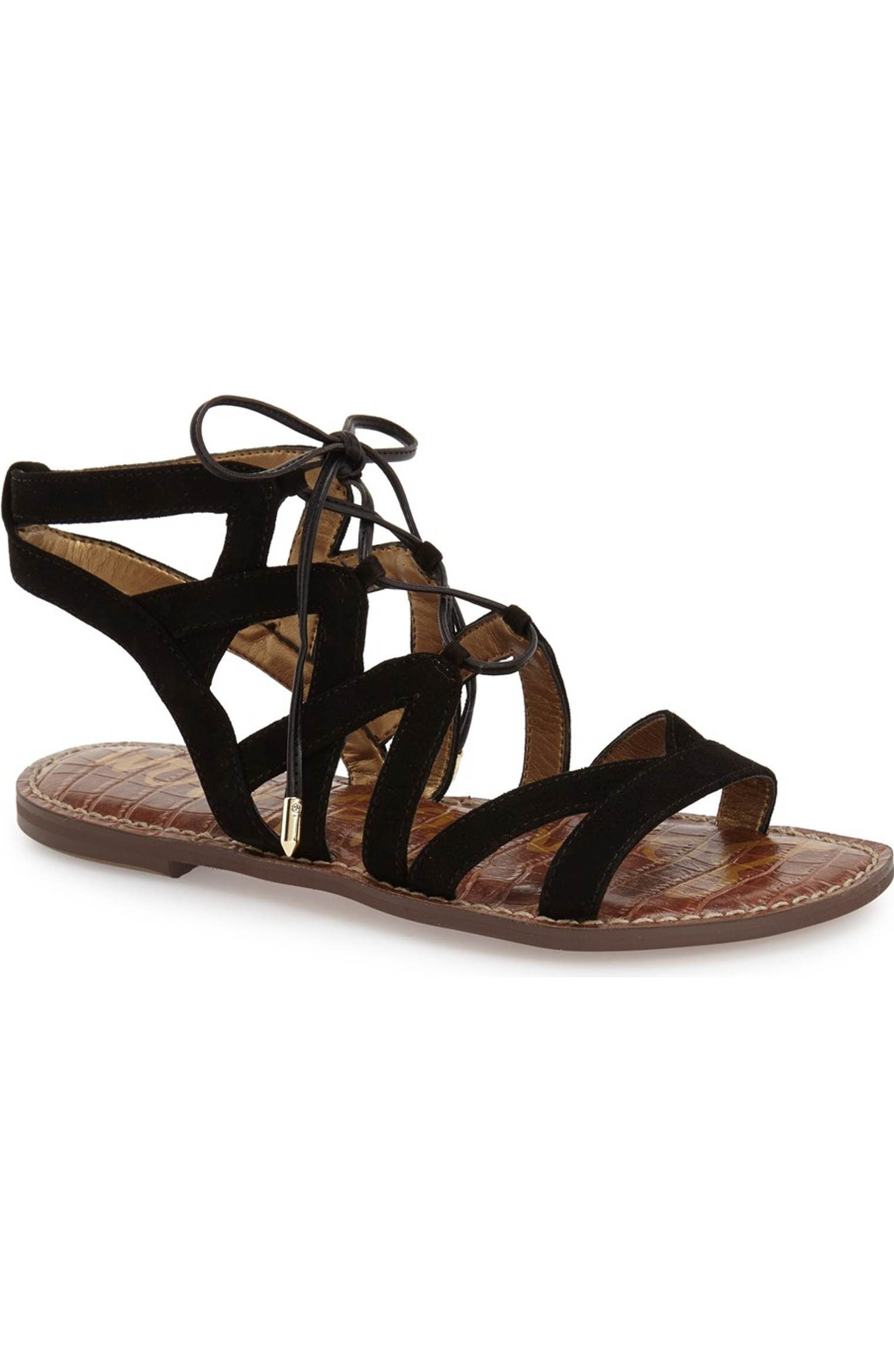 af72859dcc4ecc Main Image - Sam Edelman  Gemma  Lace-Up Sandal (Women)
