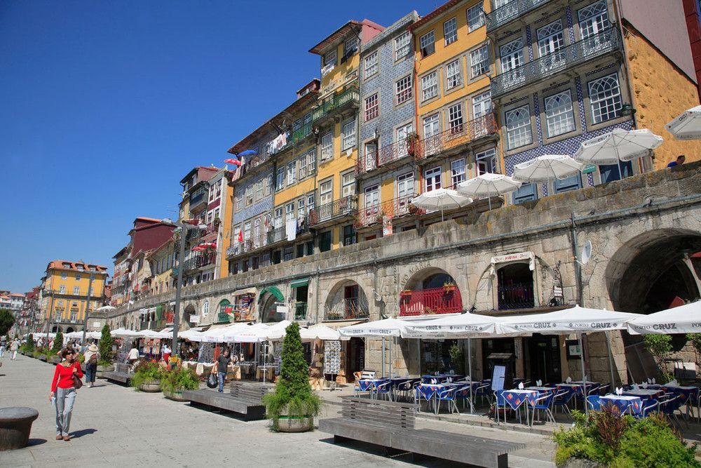 Cais da Ribeira (Oporto): un atracción en sí misma