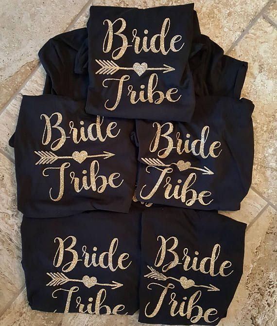 Bride Shirt Tribe Personalized T Bridal Party Bachelorette Wedding Gifts Bridesmaid