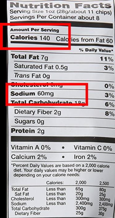 Nutrition Label Nutrition Labels Nutrition High Sodium Foods