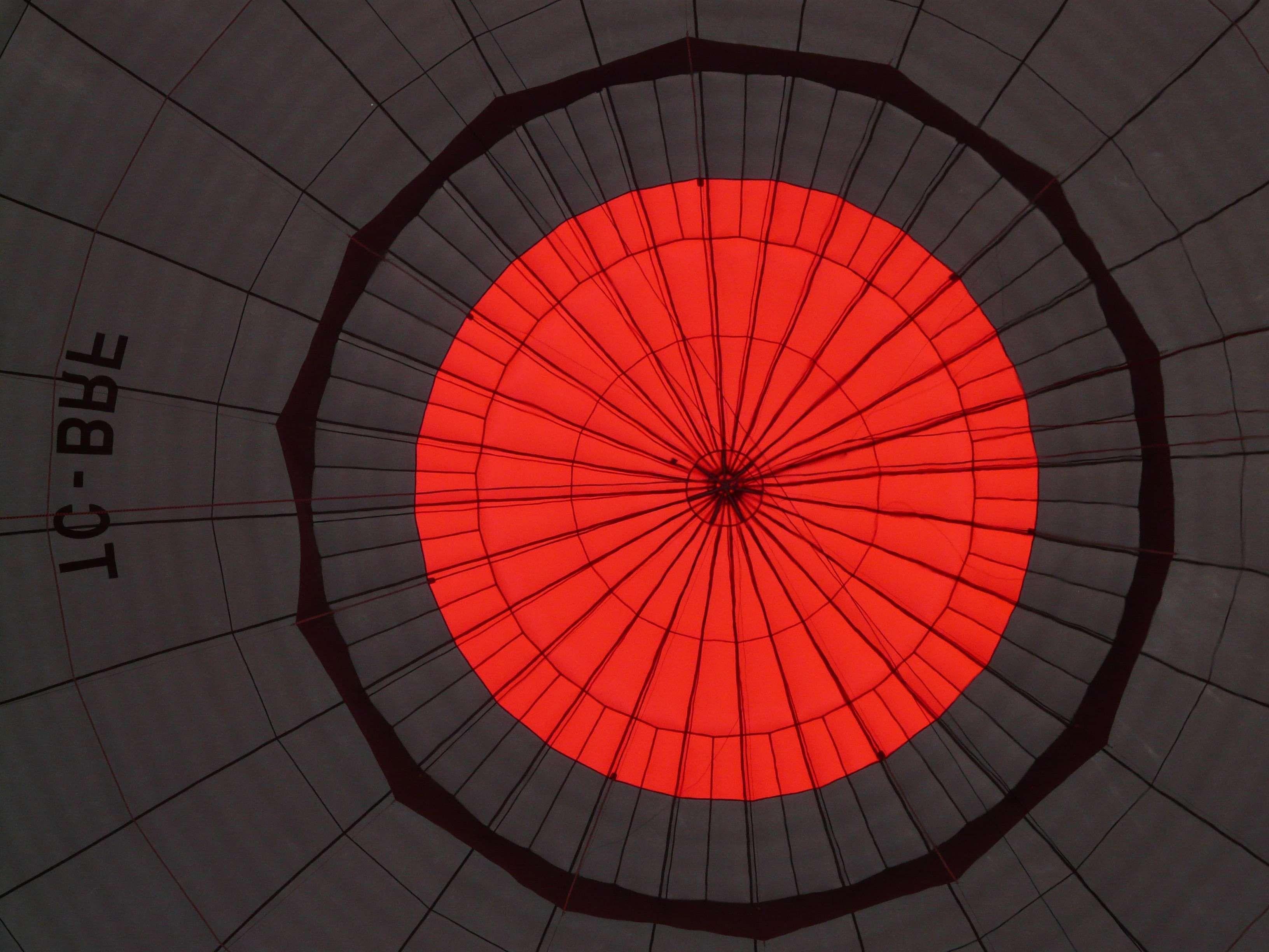 air sports balloon envelope black captive balloon