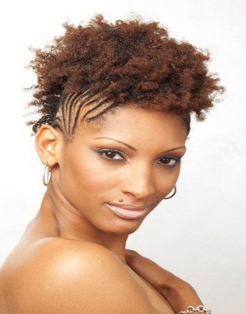 Natural mohawk hairstyles black women braided hairstyles