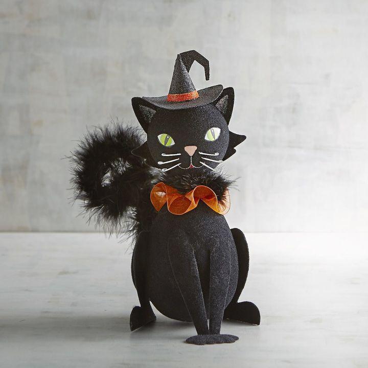 Black Cat Halloween Decor halloween Pinterest