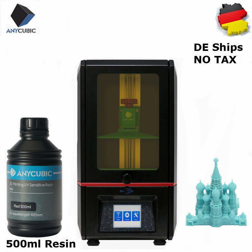 ANYCUBIC SLA Photon 3D Printer Light-Cure 2K LCD TFTExtra