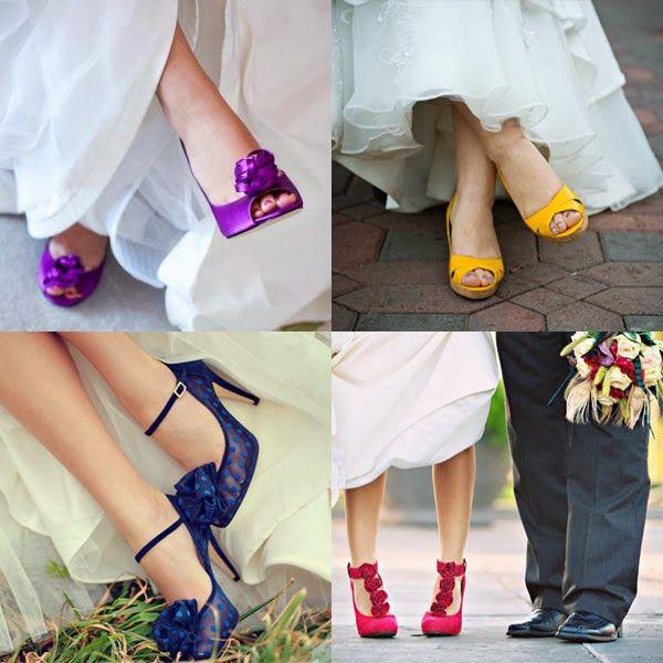 asombrosos zapatos de novia | moda y tendencias | zapatos