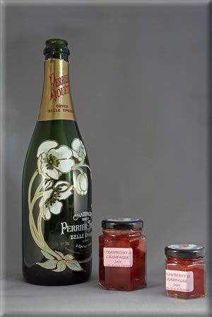 Strawberry and Champagne with Black Pepper... one of my creations!