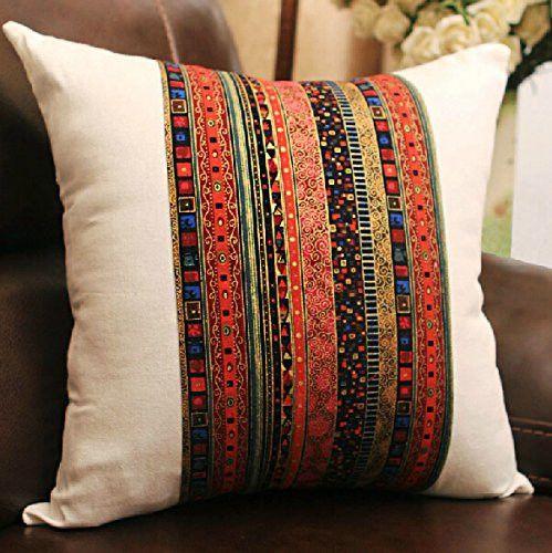 sofa boho pillow cushion cover