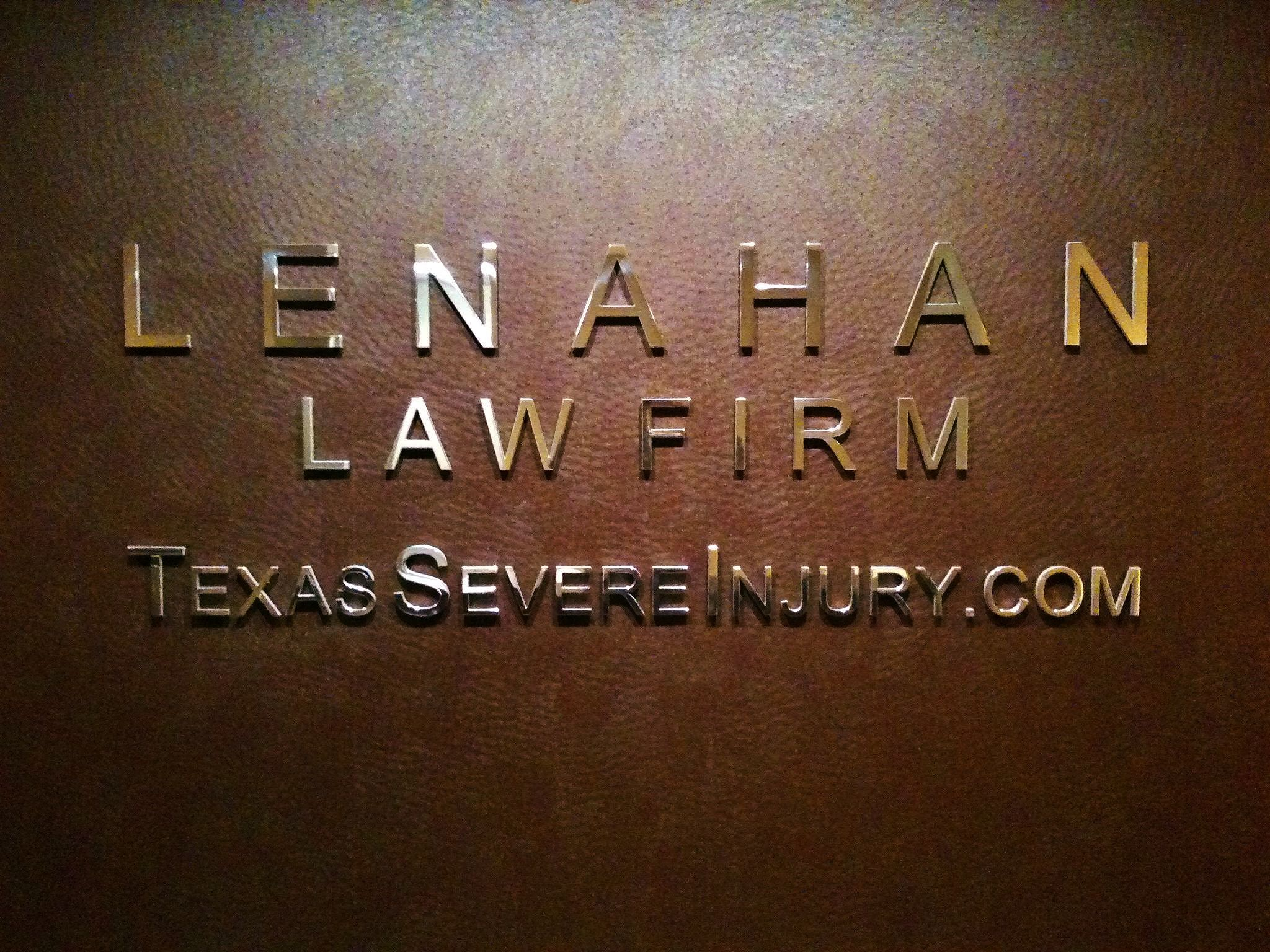 legal letters format%0A Our polished aluminum letters on a rich leather covered wall create